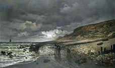 La Hève Burnu'nda Deniz Çekilmesi, 1865