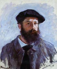 Bereli Otoportre, 1886, Tuval üzerine yağlıboya, 56 x 46 cm, Özel koleksiyon.