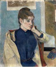 Madeleine Bernard'ın Portresi, 1888