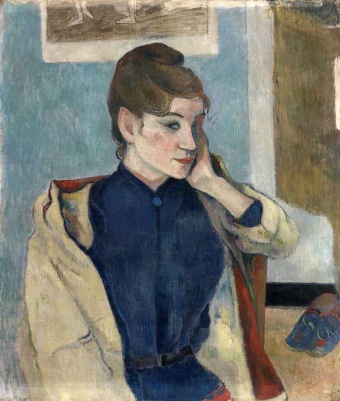 Madeleine Bernard'ın Portresi, 1888 resmi