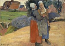 Breton Köylü Kadınlar, 1894