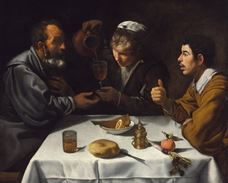 Show The Farmers' Lunch, c. 1618-1619 details