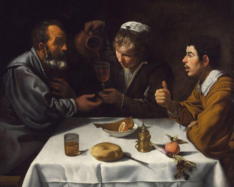 Çiftçilerin Öğle Yemeği, 1618-1619 dolayları resmi