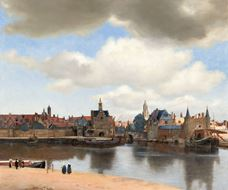 Show View of Delft, c. 1660-1661 details