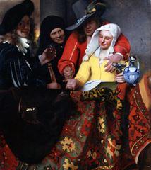 Kadın Taciri, 1656, Tuval üzerine yağlıboya, 143 x 130 cm, Staatliche Kunstsammlungen, Dresden, Almanya.