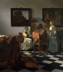Konser, 1665 dolayları, Tuval üzerine yağlıboya, 72.5 x 64.7 cm, Isabella Stewart Gardner Museum, Boston, ABD.