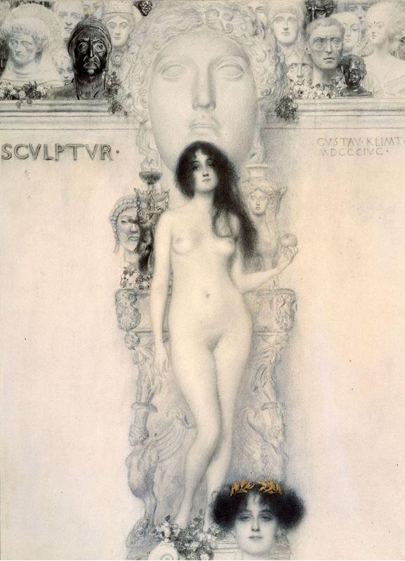 Heykel Alegorisi, 1896 resmi