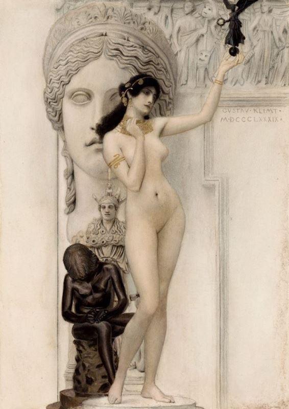 Heykel Alegorisi, 1889 resmi