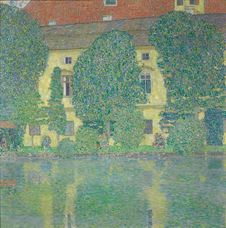 Show The Schloss Kammer On The Attersee III, 1909-1910 details
