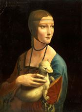 Show  Lady with an Ermine, 1489-1490 details
