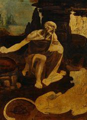 Aziz Hieronymus, 1482 dolayları, Ahşap üzerine yağlıboya, 103 x 74 cm, Pinacoteca Vaticana, Vatikan.