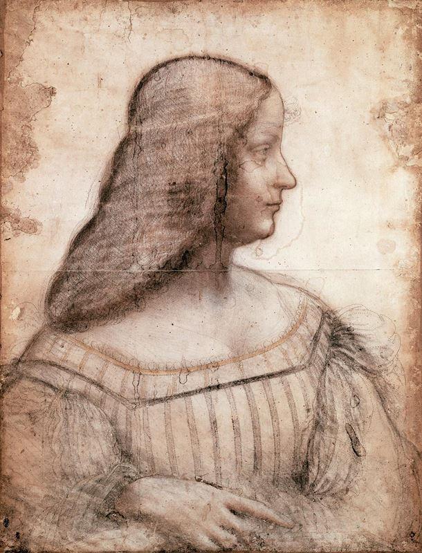 Isabella d'Este'nin Portresi, 1499-1500 resmi