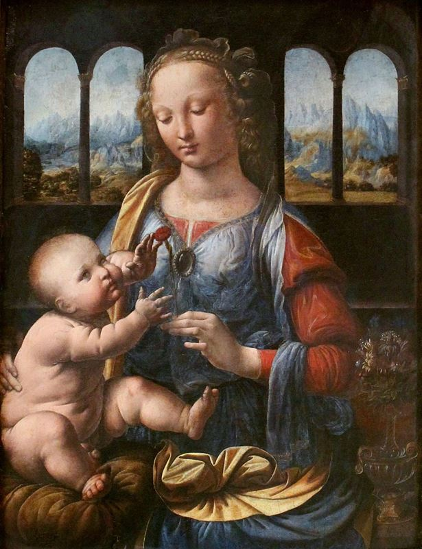 Picture for Madonna of the Carnation, c. 1473