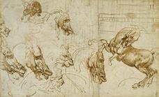 Atlarda ve Aslanlarda Öfke İfadeleri, 1503-1504 dolayları