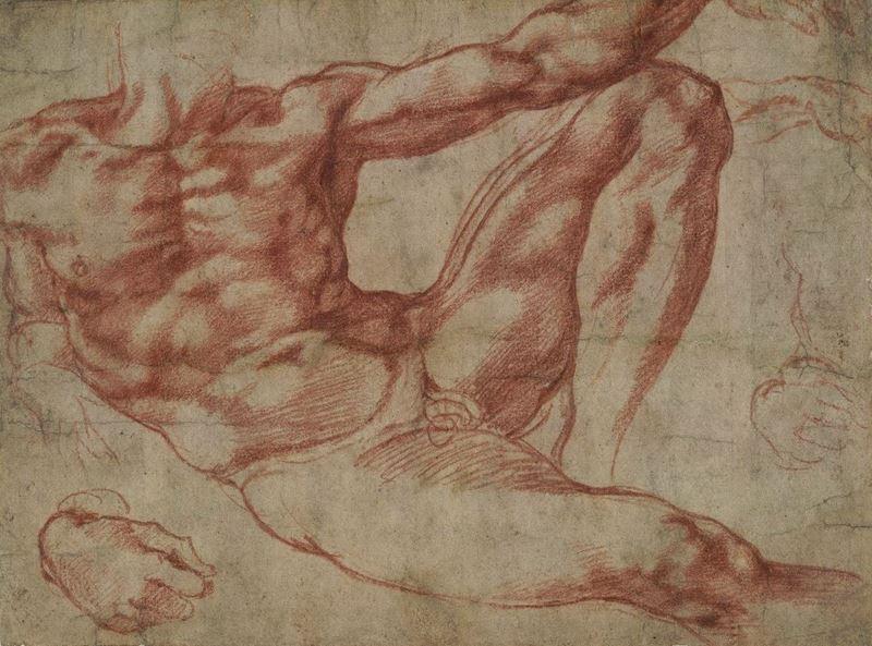 Adem'in Yaratılışı için çalışma, 1511 resmi