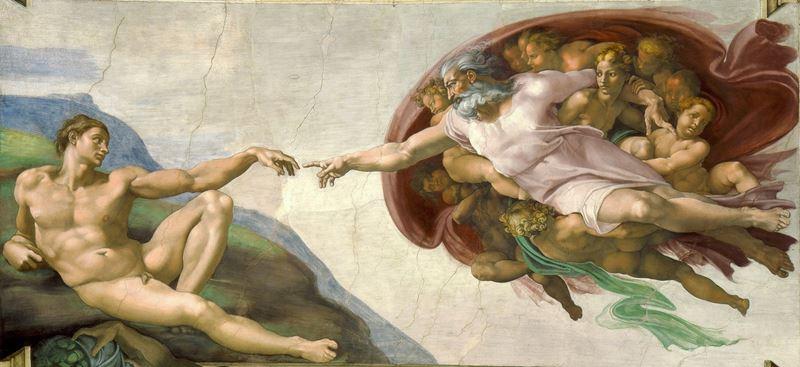 Adem'in Yaratılışı resmi