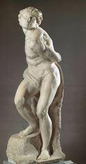 İsyan Eden Köle, 1513-1516, Mermer, 209 cm, Musée du Louvre, Paris, Fransa.