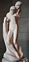 Pietà Rondanini, 1552-1564, Mermer, 195 cm, Castello Sforzesco, Milan, İtalya.