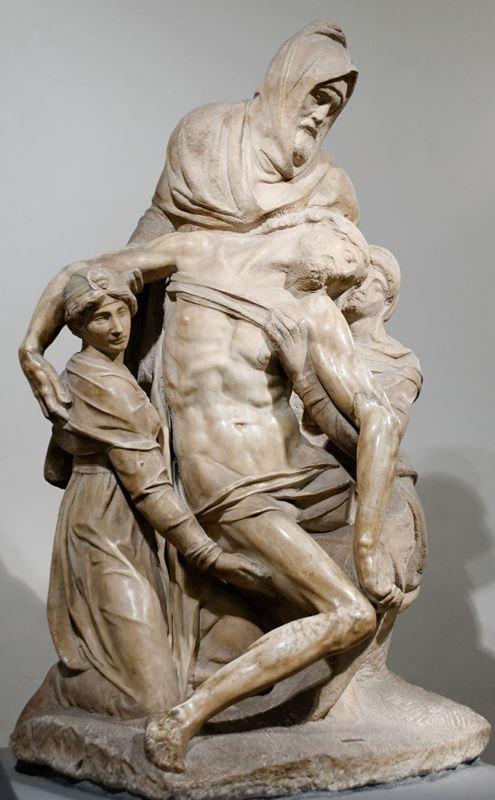 Pietà Bandini, 1550 dolayları resmi