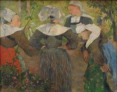 Dört Breton Kız, 1886