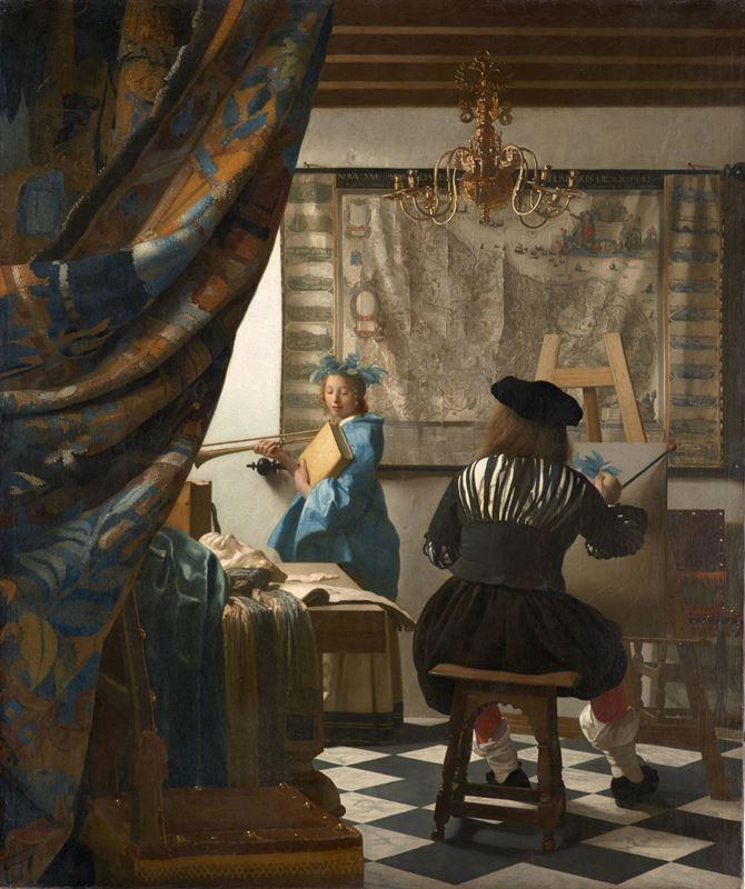 Resim Sanatı, 1666-1668 dolayları resmi