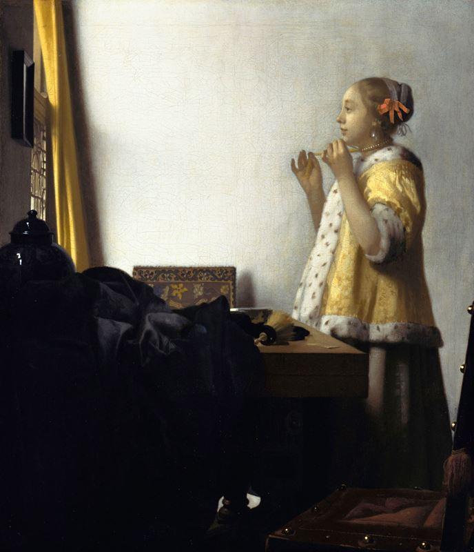 İnci Kolyeli Kadın, 1662-1665 dolayları resmi