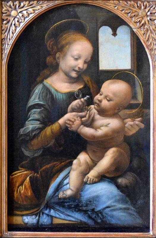Madonna Benois, 1478-1480 resmi