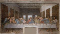 Son Akşam Yemeği, 1495-1498 dolayları, Alçı üzerine yağlıboya ve tempera, 460 x 880 cm, Santa Maria delle Grazie Yemekhanesi, Milan, İtalya.