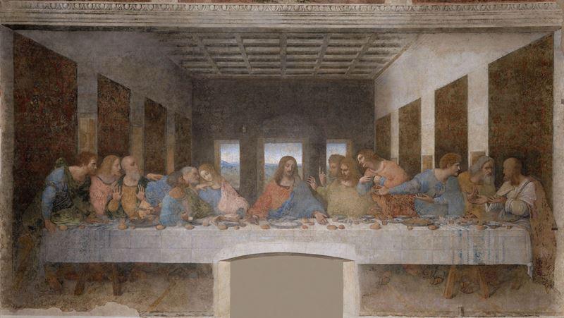 Son Akşam Yemeği, 1495-1498 dolayları resmi
