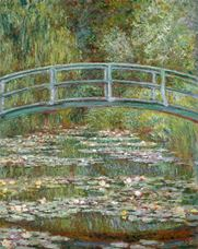 Show Bridge over a Pond of Water Lilies, 1899 details