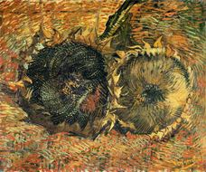 Show Sunflowers, 1887 details