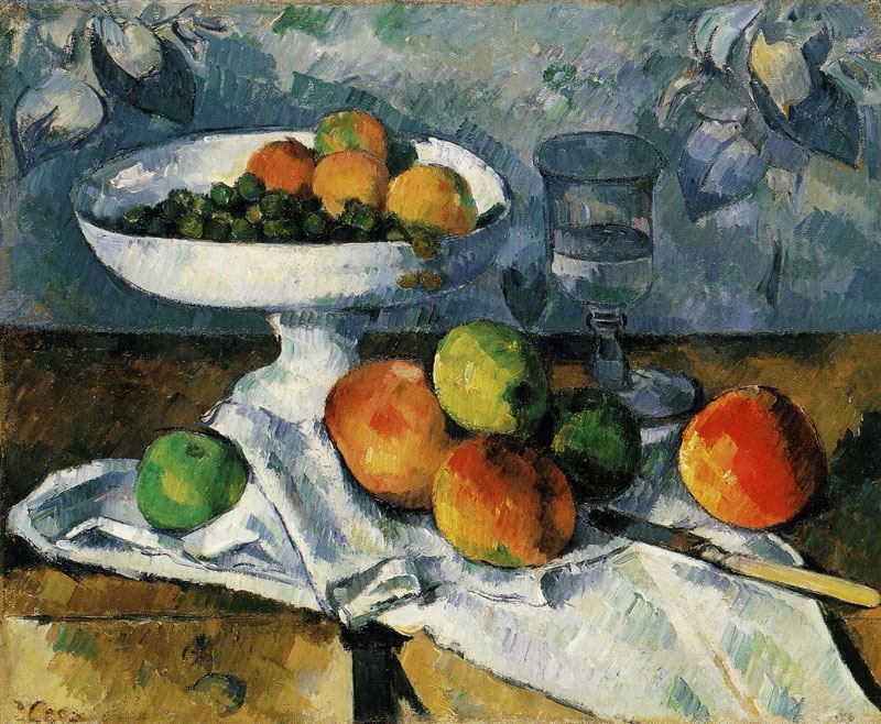 Picture for Still Life with Fruit Dish, 1879-1880