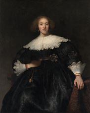 Yelpazeli Genç Kadının Portresi, 1633