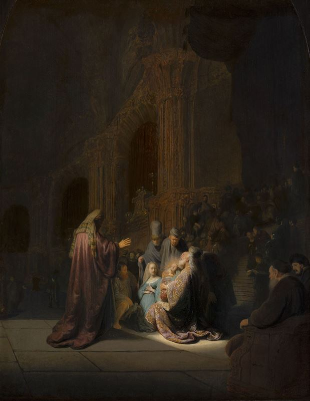 İsa'nın Tapınağa Takdimi, 1631 resmi