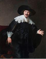 Sandalyeden Kalkmak Üzere Olan Adam, 1633