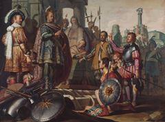 Tarih Resmi, 1624 dolayları, Panel üzerine yağlıboya, 89.3 x 121 cm, Museum De Lakenhal, Leiden, Hollanda.