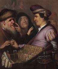Seyyar Satıcı (Görme), 1624 dolayları