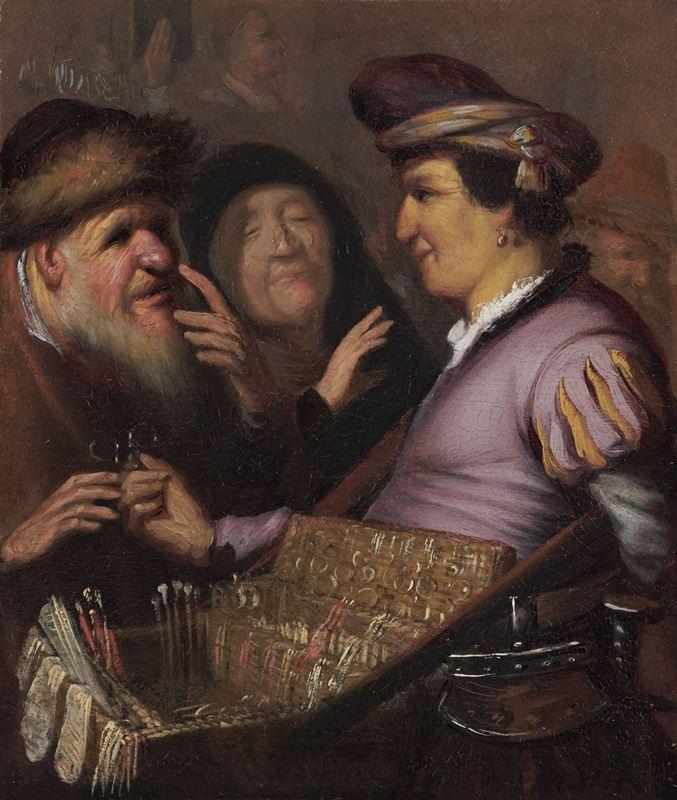Seyyar Satıcı (Görme), 1624 dolayları resmi