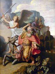 Balam ve Eşeği, 1626, Panel üzerine yağlıboya, 63 x 46.5 cm, Musée Cognacq-Jay, Paris, Fransa.
