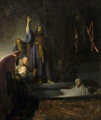 Lazarus'un Dirilişi, 1630-1632, Panel üzerine yağlıboya, 96.3 x 81.2 cm, Los Angeles County Museum of Art, Los Angeles, ABD.