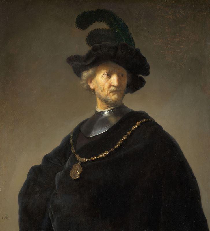 Altın Zincirli Yaşlı Adam, 1631 resmi