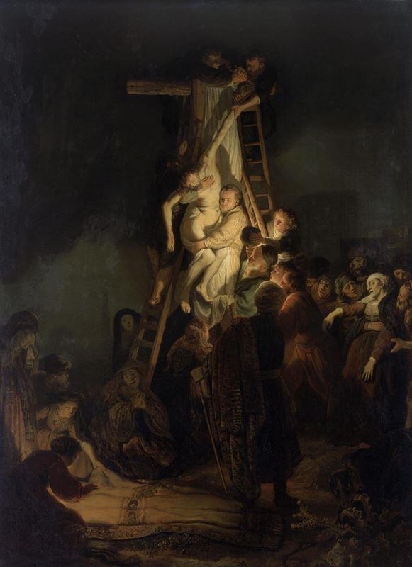 Çarmıhtan İndiriliş, 1634 resmi