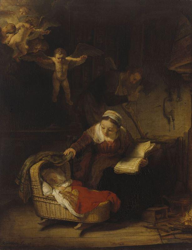 Kutsal Aile, 1645 resmi