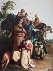 Hadımın Vaftiz Edilmesi, 1626