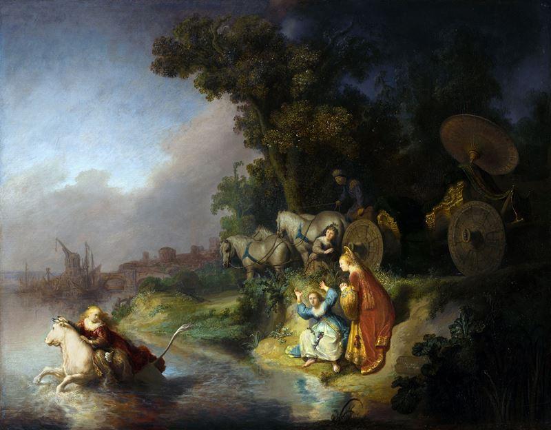 Europa'nın Kaçırılması, 1632 resmi