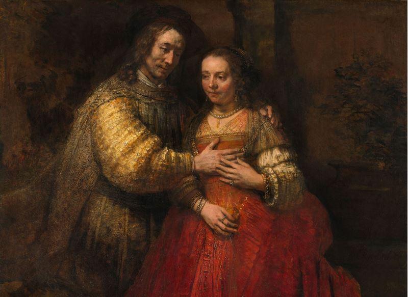 Yahudi Gelin, 1665-1669 dolayları resmi