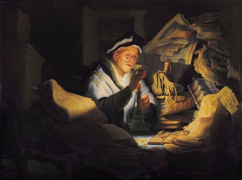 İbret Hikayelerinde Zengin Adam, 1627 resmi