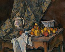 Show Still Life with Apples and Peaches, 1905 details