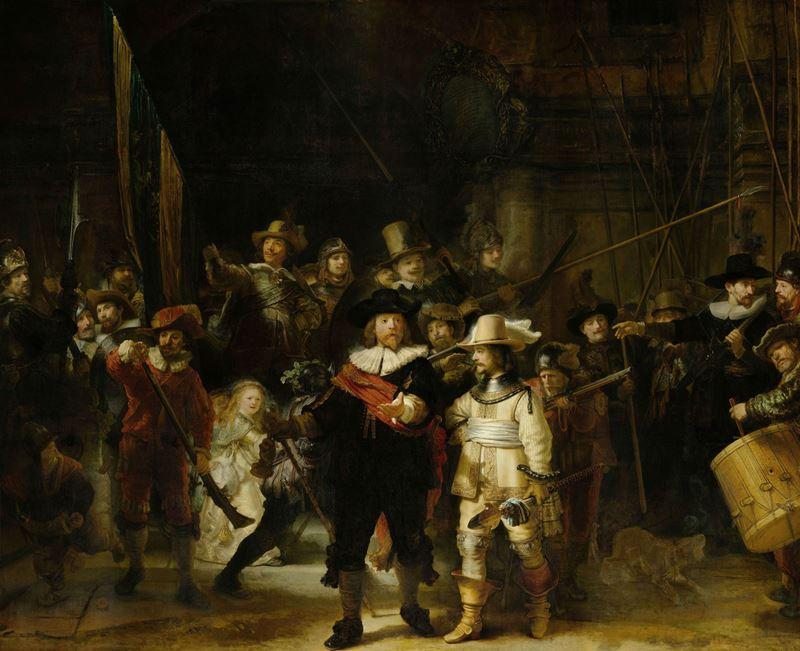 Gece Nöbeti, 1642 resmi