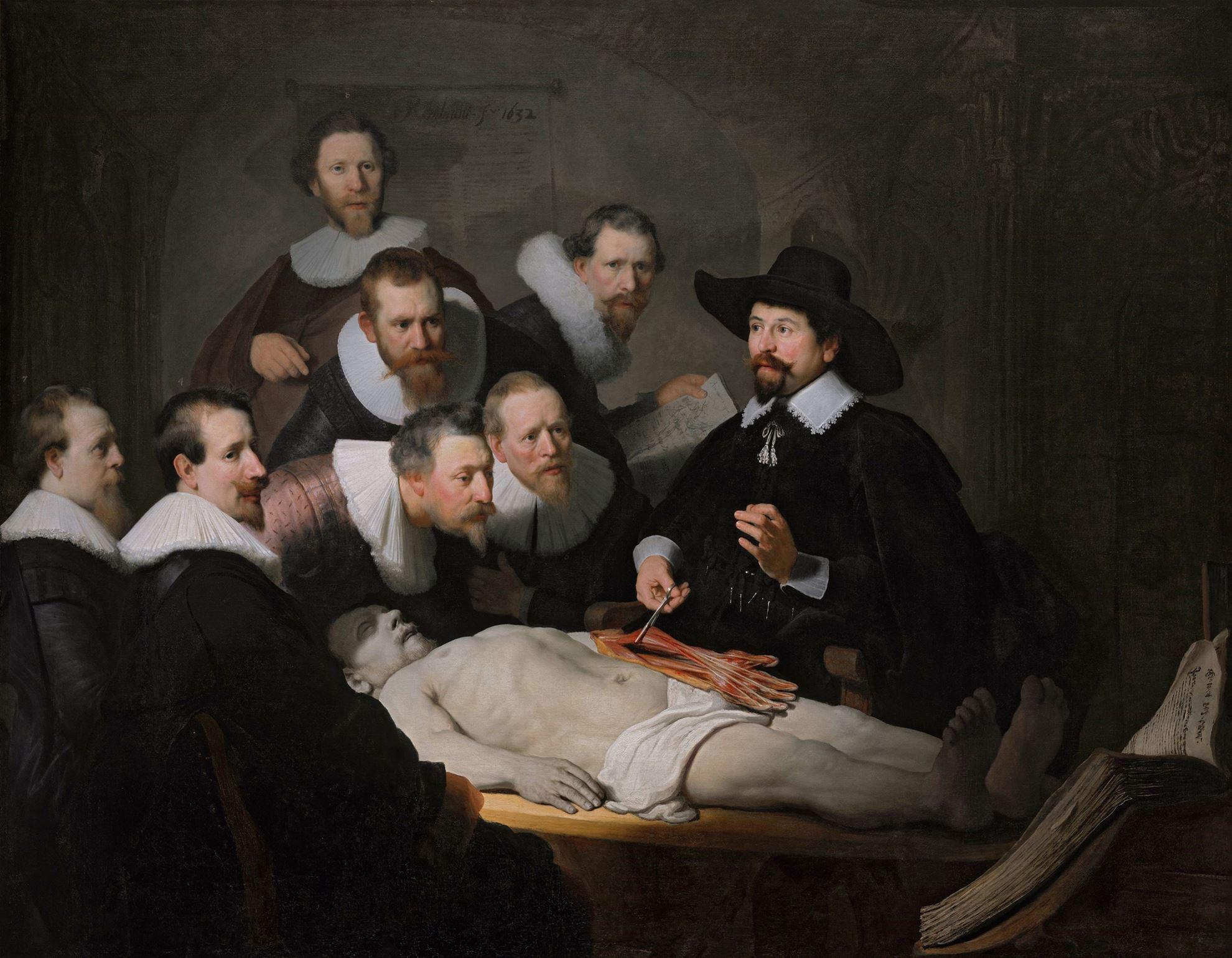rembrandt dr nicolaes tulp un anatomi dersi pivada com